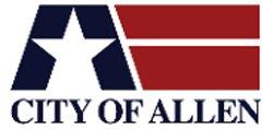 allen tx, allen texas logo