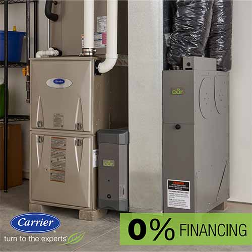 0% financing, zero down air conditioning and heating system, hvac rebates