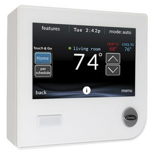 Carrier Infinity Control, systx, hvac thermostat, wifi thermostat
