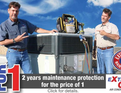 Commercial AC 2 for 1 Maintenance Protection