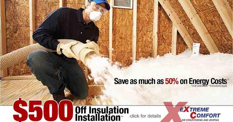 attic insulation sale, ac repair,