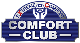 Extreme Comfort Air Conditioning Comfort Club logo