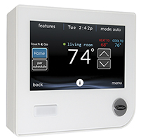 Carrier Infinity Thermostat Control, wifi thermostat, hvac thermostat, systx