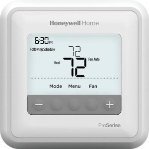 Honeywell T4 Pro Thermostat, Wifi thermostat, hvac thermostat, home thermostat,
