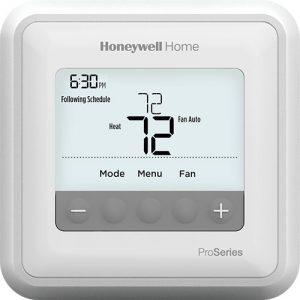Honeywell T4 Pro Thermostat, Wifi thermostat, hvac thermostat, home thermostat,