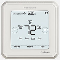 honeywell t6 pro thermostat, wifi thermostat, hvac thermostat