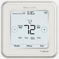 honeywell t6 pro thermostat, wifi thermostat, hvac thermostat